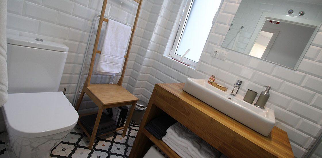 Baño del Apartamento Sur
